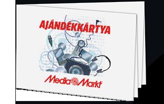 Media Markt ajándékkártya – elektronika