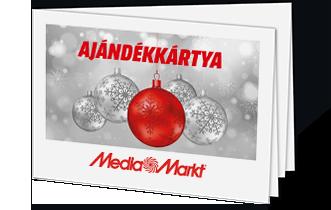 Media Markt ajándékkártya – karácsonyi dísz